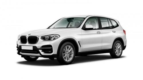 Защитная пленка для интерьера салона BMW X3 (2018)