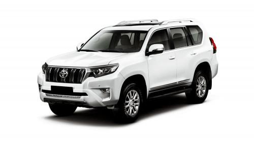 Защитная пленка для интерьера салона Toyota Land Cruiser Prado 150, 2017-2020