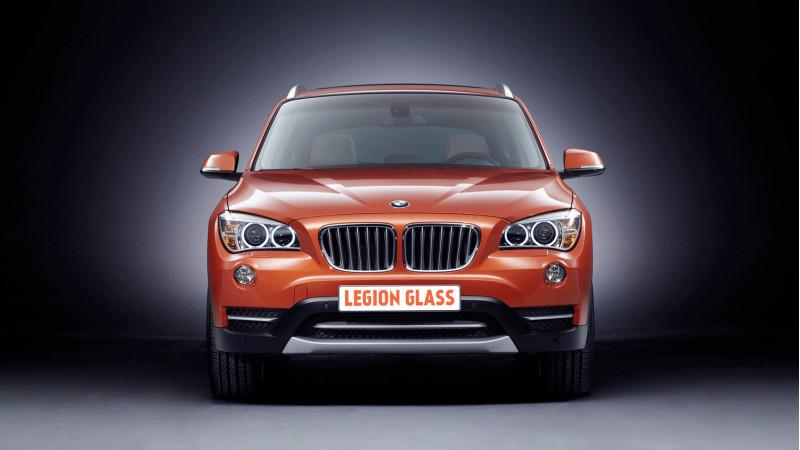 """Защитное стекло (пленка) BMW X1 (E84) 2009-2014 8,8"""" Москва"""