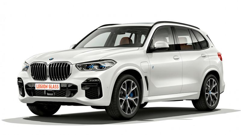 Защитное стекло панель приборов (без камеры) BMW X5 (G05) 2018-2020